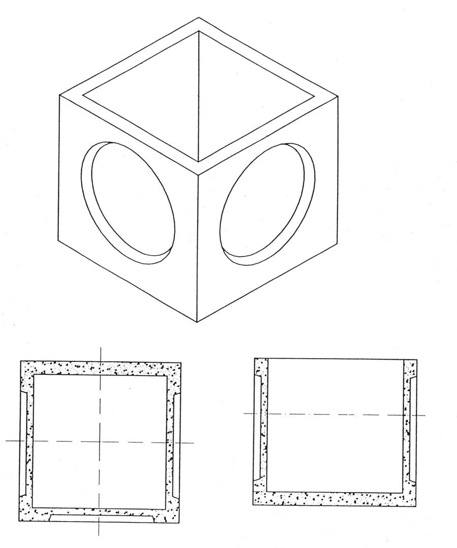Arquetas cuadradas sin fondo prefabricados de hormig n - Arquetas prefabricadas pvc ...