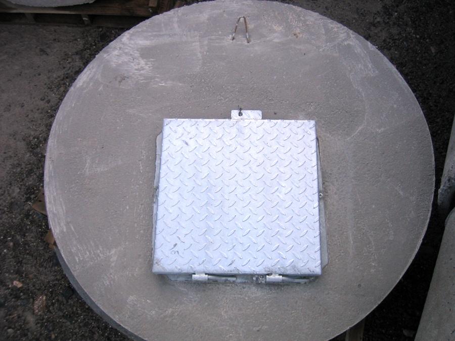 Tapas para pozos fre ticos prefabricados de hormig n - Arquetas prefabricadas pvc ...